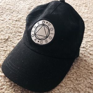 ASOS voided graphic baseball hat